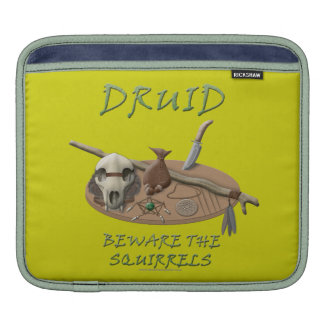 Druid: Beware the Squirrels Sleeves For iPads