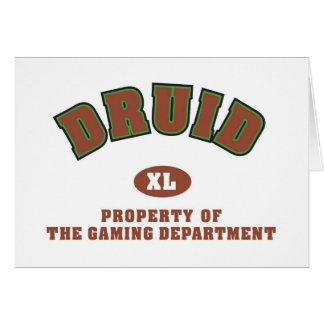 Druid Card