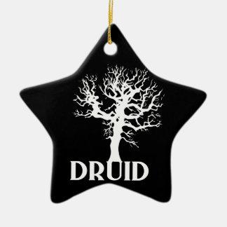 Druid Ceramic Ornament