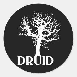 Druid Classic Round Sticker