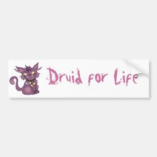 Druid for Life Bumper Sticker