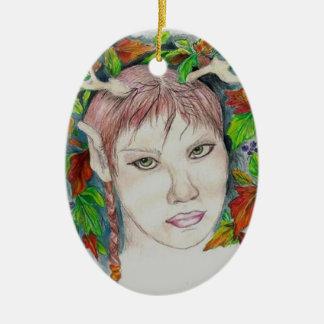 Druid Pride Ceramic Ornament