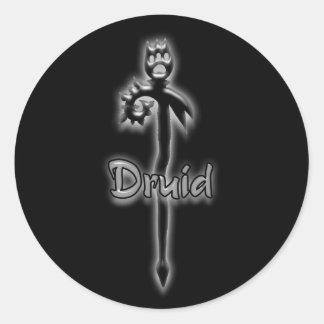 Druid stave stickers