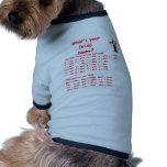 druida camiseta de perro