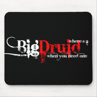 Druids Wanted Mouse Pad