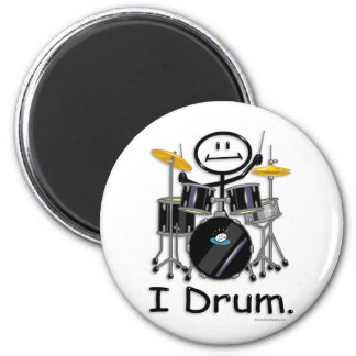 Drum 2 Inch Round Magnet