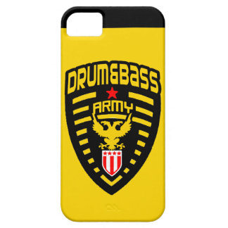 Drum and Bass Ar,my iPhone 5 Cover