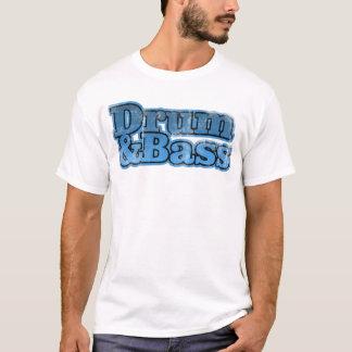 Drum and Bass Blue T-Shirt