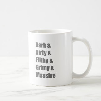 Drum and Bass DnB Electro Dub step Dubstep Grime Coffee Mug