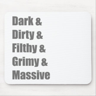 Drum and Bass DnB Electro Dub step Dubstep Grime Mouse Pad