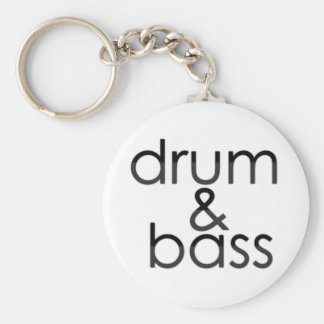 Drum and Bass Keychain