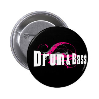 Drum and Bass Mob Pinback Buttons