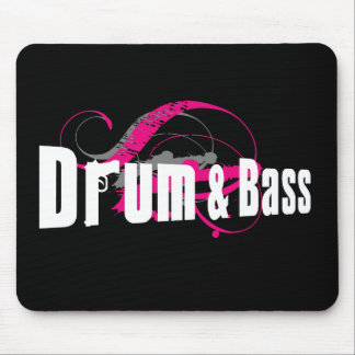 Drum and Bass Mob Mouse Pad