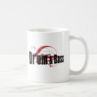 Drum and Bass Mob Classic White Coffee Mug
