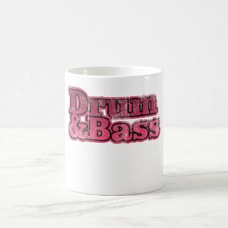 Drum and Bass Red Coffee Mug