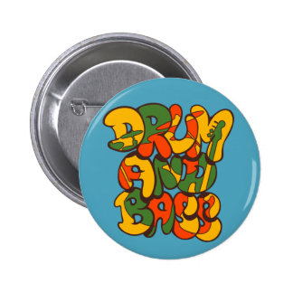 drum and bass reggae color - logo, graffiti, sign button