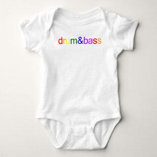 Drum and Bass Spectrum Baby Bodysuit