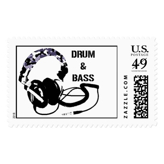 Drum and Bass Stamps! Postage