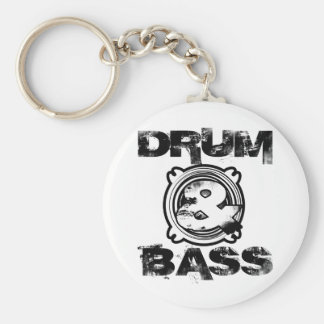 Drum and Bass Subwoofer Keychain