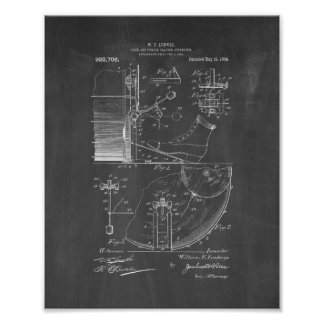 Drum And Cymbal Playing Apparatus Patent - Chalkbo Poster