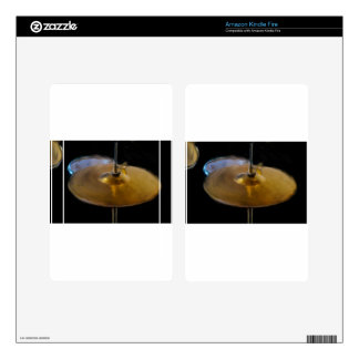 DRUM AND CYMBOL KINDLE FIRE SKIN