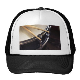 drum and drum sticks hats