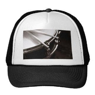 drum and drum sticks hat