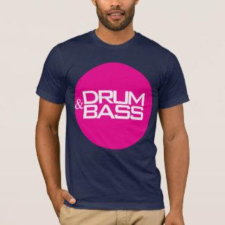 Drum & Bass (pink/white) T-Shirt