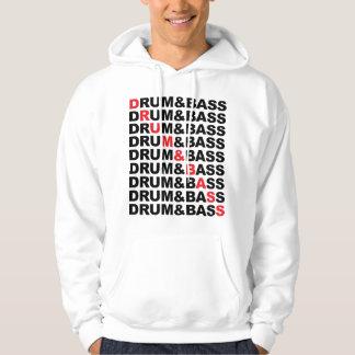 Drum & Bass Square Hoodie