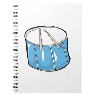 drum blue handdrawn look.png notebook