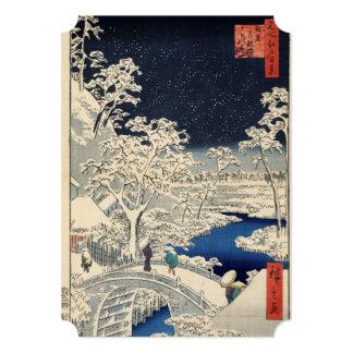 Drum Bridge at Meguro and Sunset Hill. Card