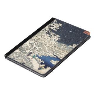 Drum Bridge at Meguro and Sunset Hill. iPad Air Case