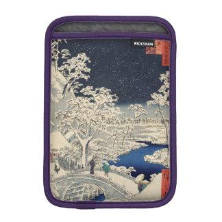 Drum Bridge at Meguro and Sunset Hill. iPad Mini Sleeve