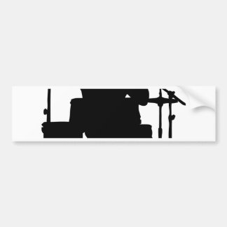 drum bull.png bumper sticker