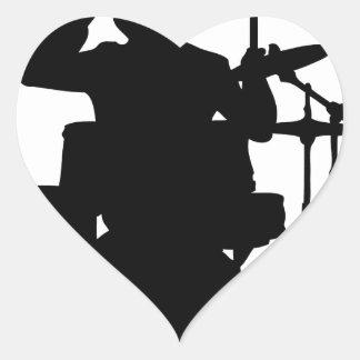 drum bull.png heart sticker