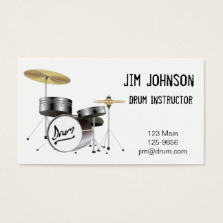 Drum Business Card