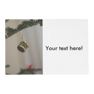 Drum Christmas decoration Placemat