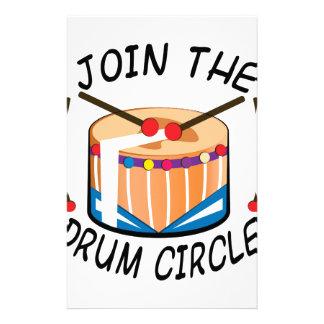 Drum Circle Stationery