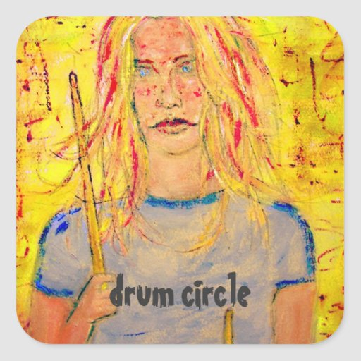 drum circle stickers
