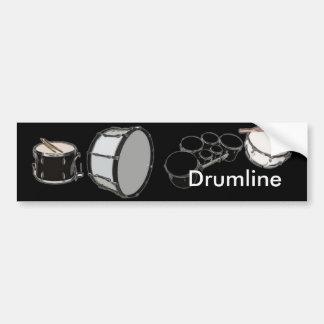 Drum Corps - Marching Band - Drumline Bumper Sticker