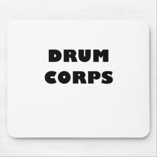 Drum Corps Mouse Pad