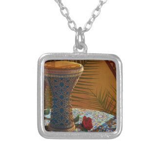 Drum Dance Live Silver Plated Necklace