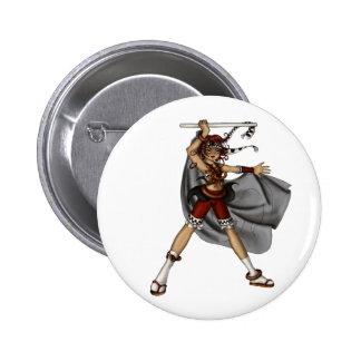Drum Dance Pinback Button