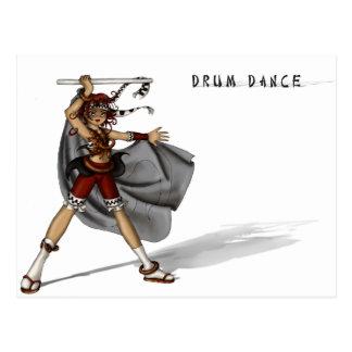 Drum Dance Postcard