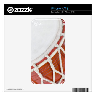 Drum Decal For iPhone 4