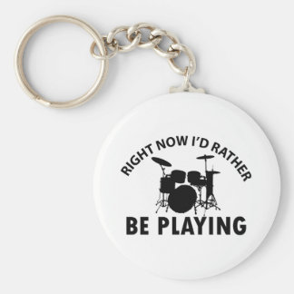 Drum Designs Keychains