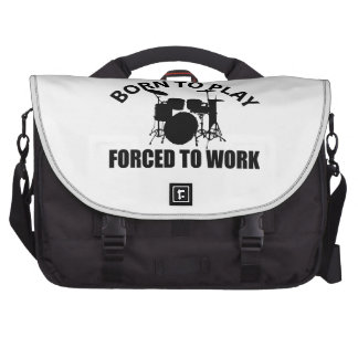 Drum Designs Laptop Commuter Bag