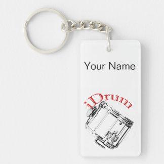 Drum Drummer Marching Key Chain Keychain