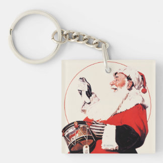 Drum for Tommy Double-Sided Square Acrylic Keychain