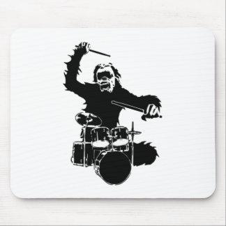 drum_gorilla_black.png mouse pad